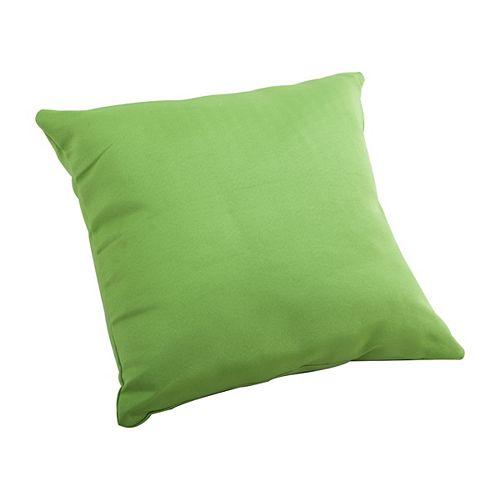 Laguna Green Large Outdoor Throw Pillow