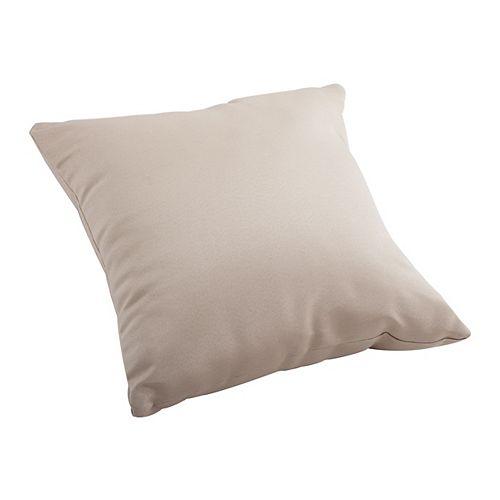 Sand Laguna Large Outdoor Throw Pillow