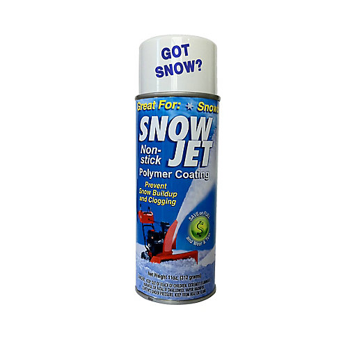Snow Jet Non-Stick Spray for Snow Blowers