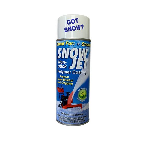 Snow Jet Non-Stick Spray for Snowblowers