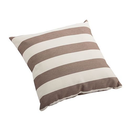 16 inch Square Pony Outdoor Throw Pillow