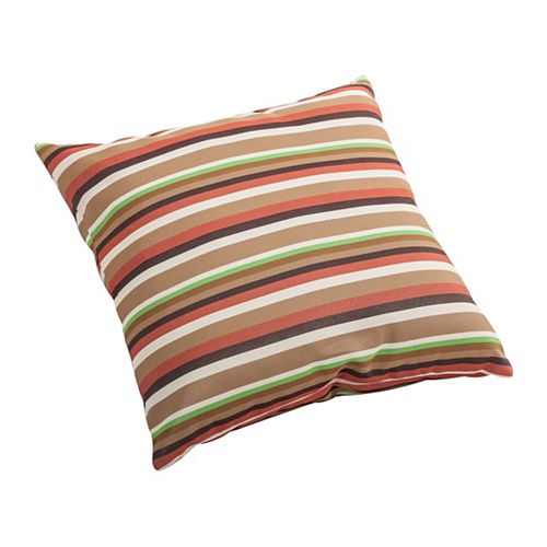 Hamster Square Outdoor Throw Pillow