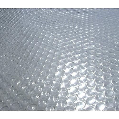 20-Feet x 40-Feet Rectangular 14-mil Clear Solar Blanket for In-Ground Pools