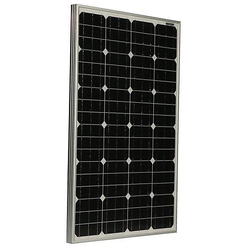 Panneau solaire PV monocristallin Grape Solar 105W pour véhicules utilitaires, bateaux et systèmes 12V