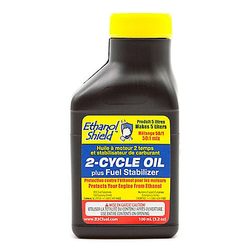 Bouclier Éthanol 2-Cycle d'huile 100ml