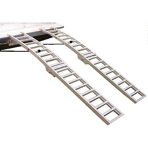 Pliante Rampes de chargement en arc