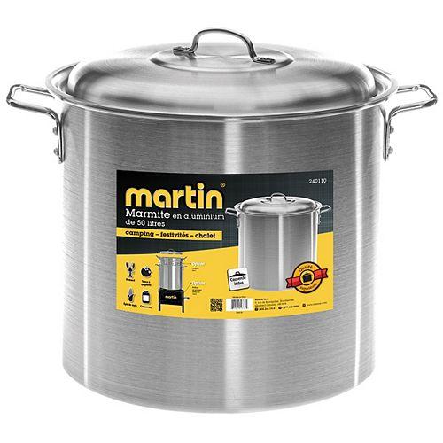 Marmite Alum. 50 lt.