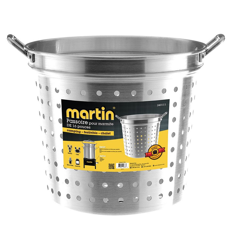 Martin passoire Alum.  50 lt.