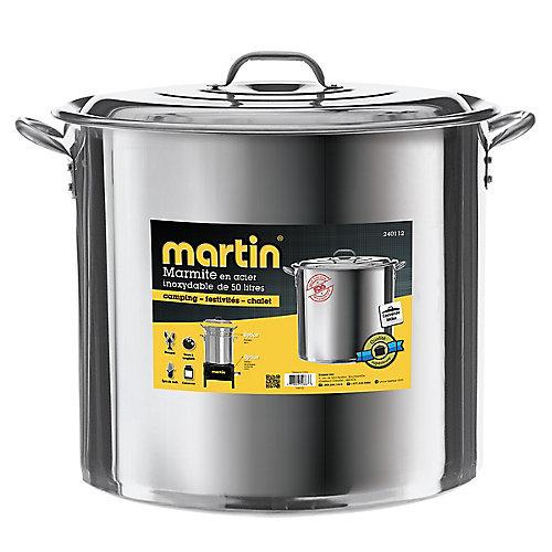 Marmite acier inoxydable 50 lt.