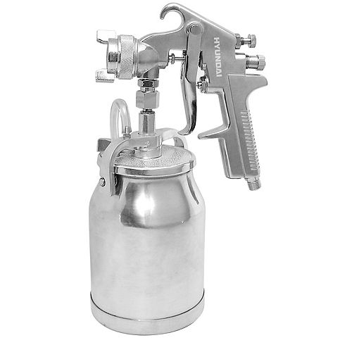 Press Spray Gun