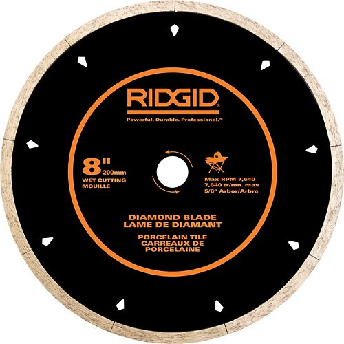 8 Inch Porcelain Diamond Blade