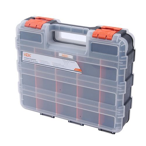 13-inch 30-Compartment Double Sided Small Parts Organizer