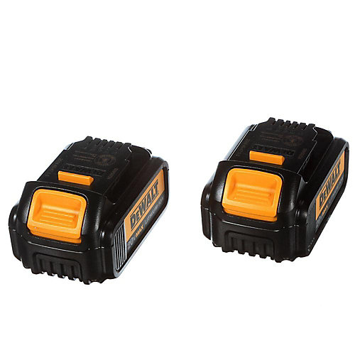 20V MAX Lithium-Ion Premium Battery Pack 3.0Ah (2-Pack)
