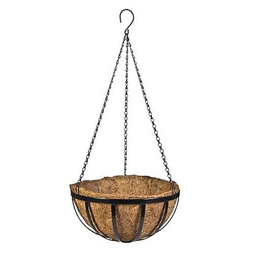 Panier suspendu en métal, 40cm (16po)
