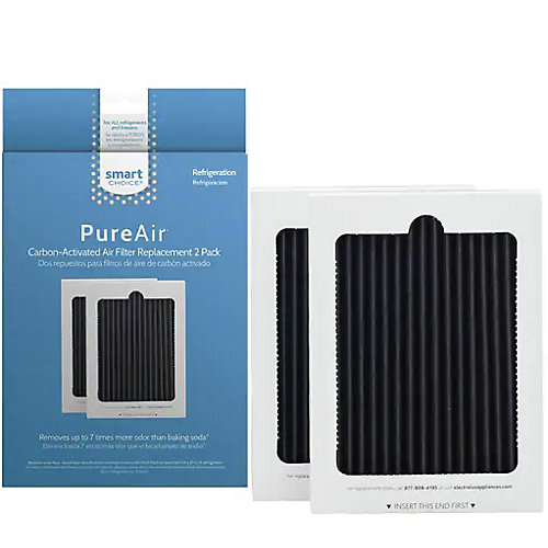 De filtre à air à charbon actif PureAir 2pk