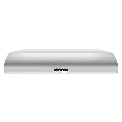 30-inch Under the Cabinet Range Hood in Stainless Steel