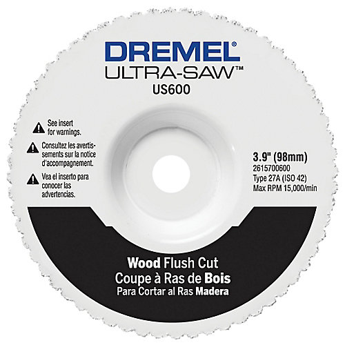 Wood Flush Cut Wheel
