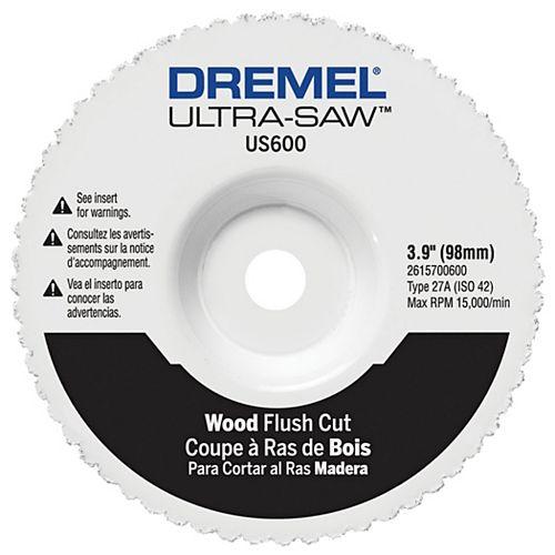 Wood Flush Cut Wheel