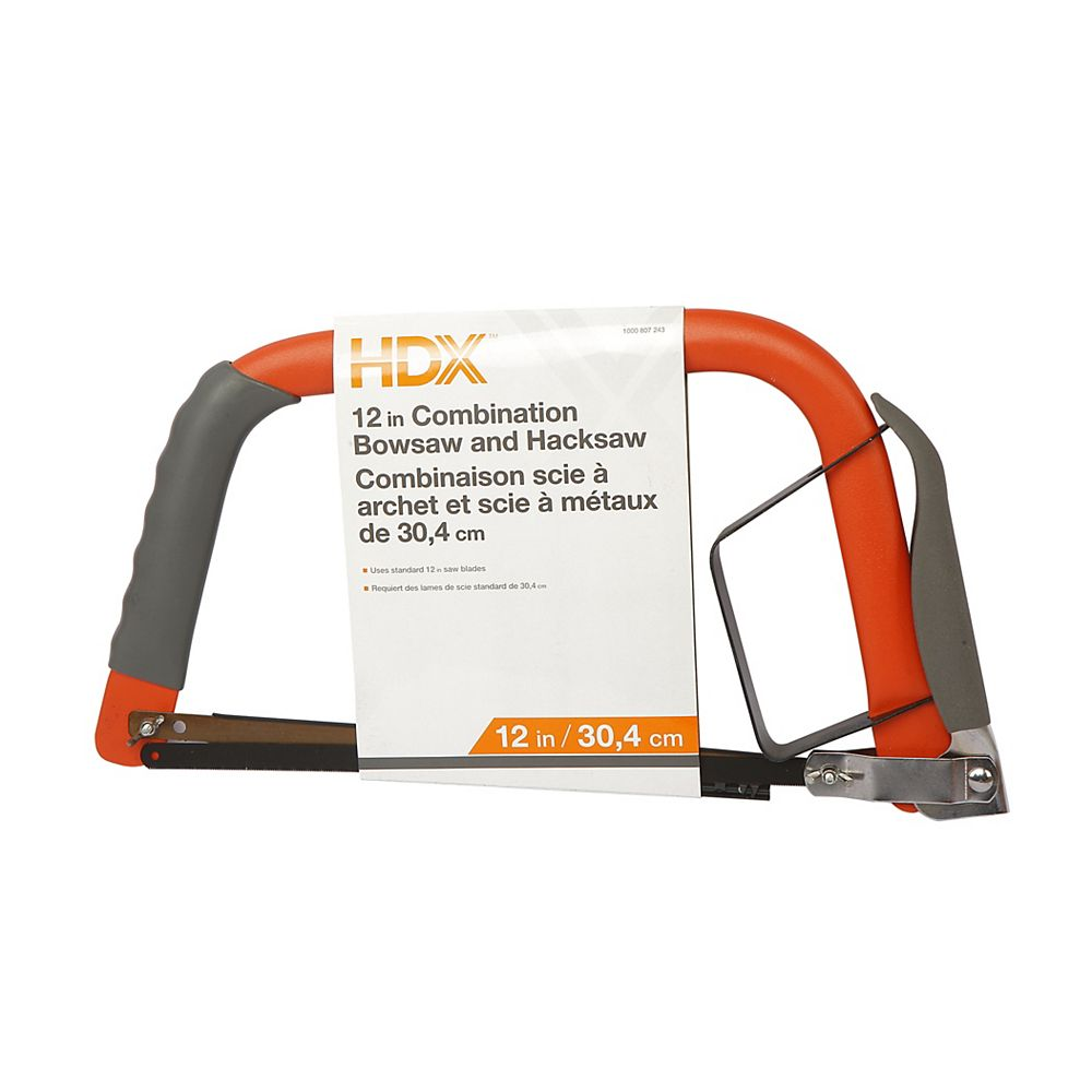 HDX 12 inch Combination Bow Saw & Hacksaw