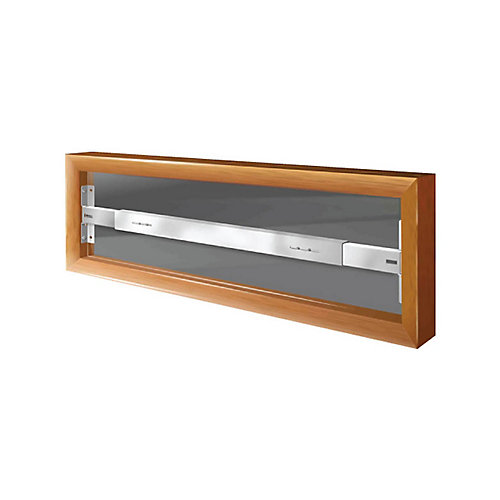 101 A 21-inch to 28-inch W Fixed Window Bar
