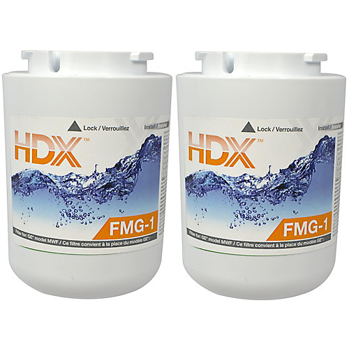 FMG-1 Refrigerator Replacement Filter Fits GE MWF (2-Pack)