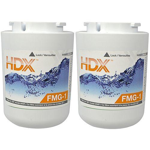 Filtre FMG - 1 remplace le filtre GE MWF (Paquet de 2)