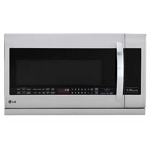 2.2 cu. ft. Over-the-Range Microwave with Slide-Out ExtendaVent in Stainless Steel