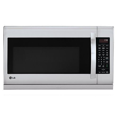 2.0 cu. ft. Over the Range Microwave with Slide-Out ExtendaVent en acier inoxydable avec EasyClean® et cuisson à capteur