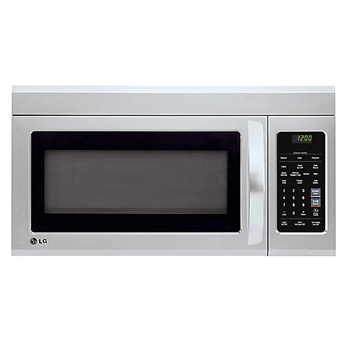 1.8 cu. ft. Over-the-Range Microwave with EasyClean Interior in Stainless Steel