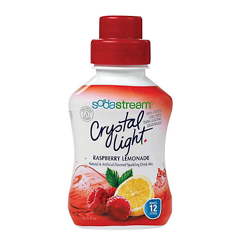 Crystal light framboise et citron