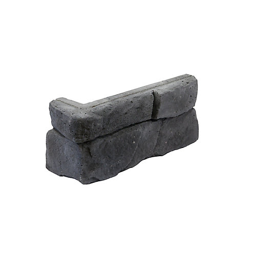 Great Lakes Corner Stone Veneer - Carbon (5-Linear Feet)