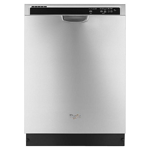 Front Control Built-In Tall Tub Dishwasher in Stainless Steel, 55 dBA - ENERGY STAR®