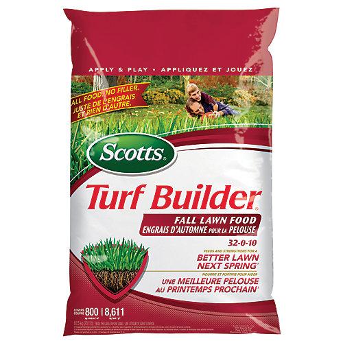 Turf Builder Fall Lawn Food 32-0-10 - 800m