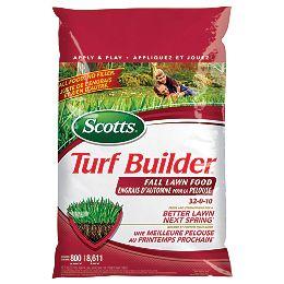 Turf Builder Fall Lawn Food 32-0-10 5.2 kg (800 m², 8,612 ft²)