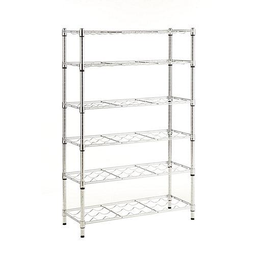 6 Shelf Wire Wine Rack