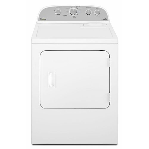 Whirlpool 7.0 cu. ft. High Efficiency Front Load Electric Dryer in White