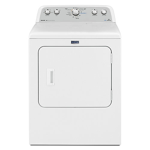 Bravos 7.0 cu. ft. High Efficiency Front Load Electric Dryer in White