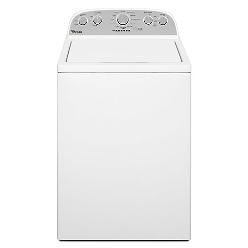 5.0 cu. ft. High Efficiency Top Load Washer with a Low-Profile Impeller in White