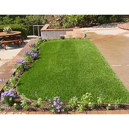 Classic 54 Spring 15 ft. x 25 ft. Artificial Grass for Outdoor Landscape