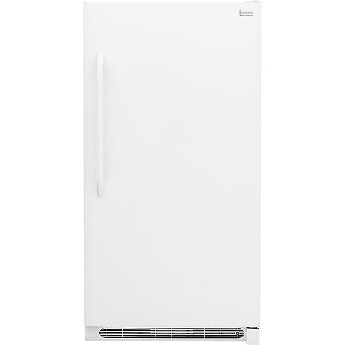21 cu. ft. Manual Defrost Upright Freezer in White