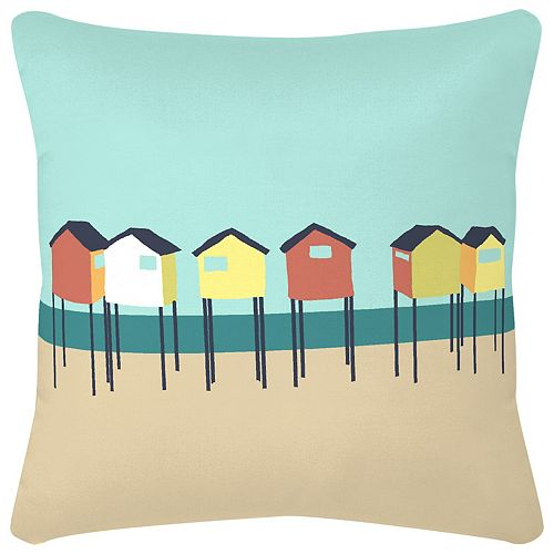 Cssn Cabine Plage Turquoise 16x16x4