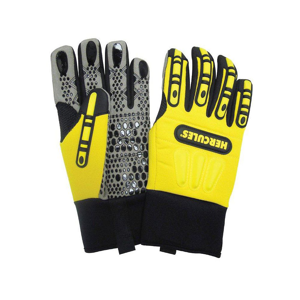 Hercules Rigger Style Impact Protection Winter Lined Work Glove - Size XXXL