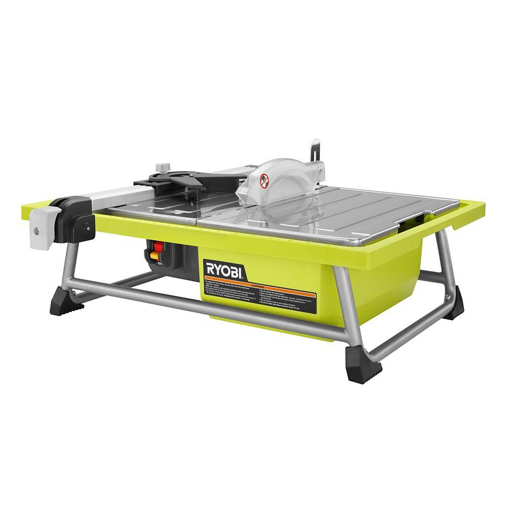 RYOBI 7-inch 4.8 amp Tabletop Tile Saw