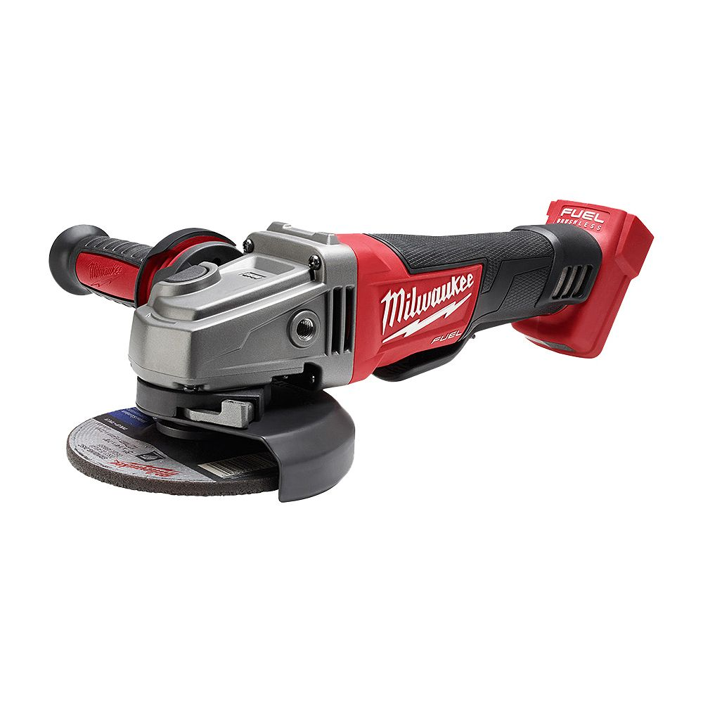 Milwaukee Tool M18 FUEL 18V Li-Ion Brushless Cordless 4-1/2 -inch / 5 -inch Grinder with Paddle Switch (Tool Only)