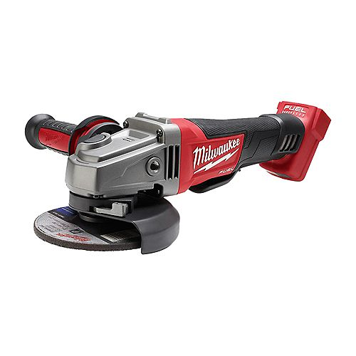 M18 FUEL 18V Li-Ion Brushless Cordless 4-1/2 -inch / 5 -inch Grinder with Paddle Switch (Tool Only)