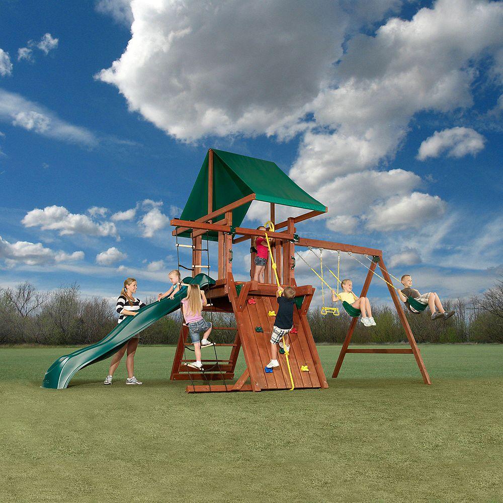 Swing-N-Slide Jupiter Wood Complete Playset