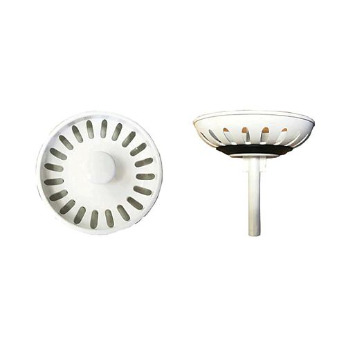White Plastic Complete Strainer Assembly
