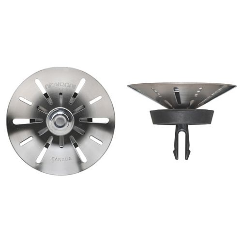 Conical with Two-Step Technology Complete Strainer Assembly