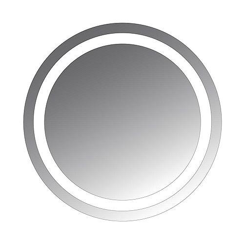 Civis Usa Miroir à ampoules DEL Jamie de 24x32po