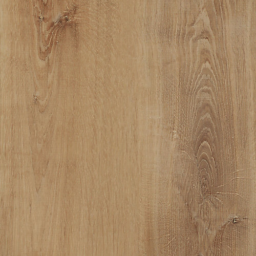 Locking 8.7-inch x 47.6-inch Golden Oak Wheat Luxury Vinyl Plank Flooring (Sample)